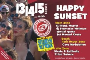Happy Sunset all'Hangloosebeach 2017, su Studio54network!